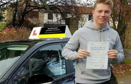 Another pass with Worksop Driving School
